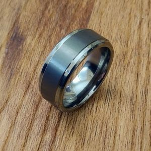 Other - Tungsten carbide 9MM Men's Ring -NEW